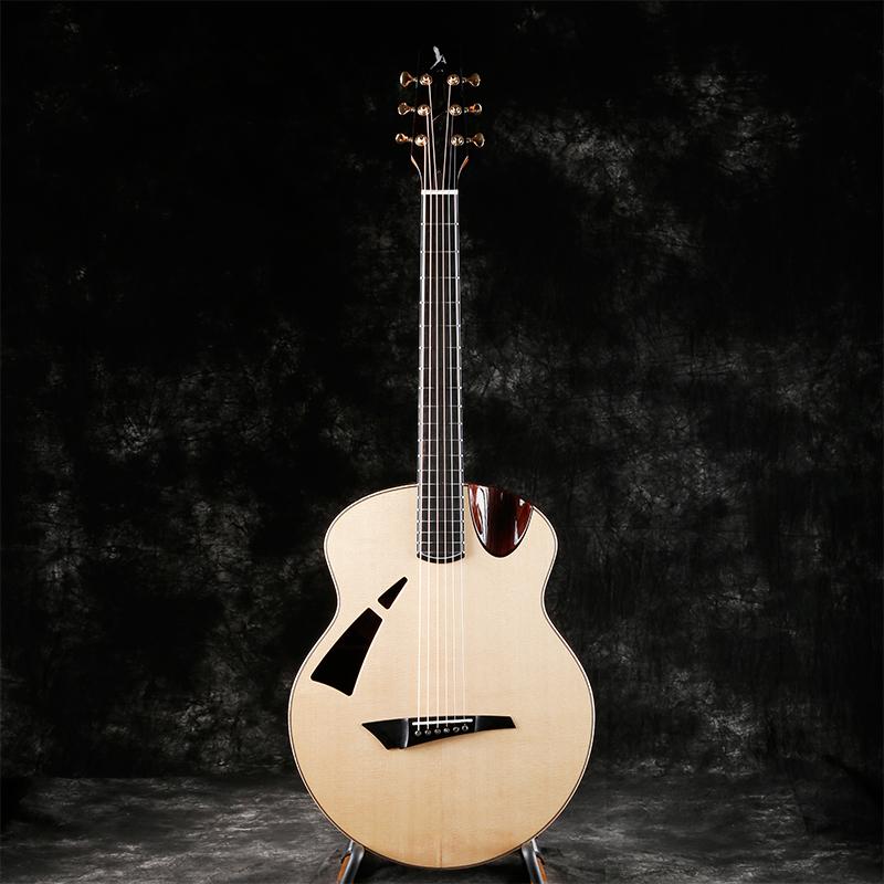 Avian 云雀Skylark手工定制全单指弹弹唱演奏民谣吉他4A